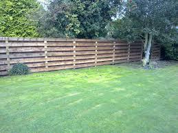 Garden Fencing The Garden Construction Company