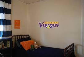 Minnesota Vikings Wall Decal 25x11 Etsy