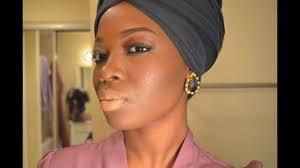 new 801 natural makeup look dark skin