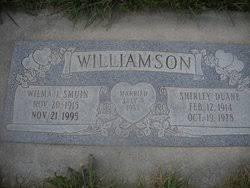 Shirley Duane Williamson (1914-1978) - Find A Grave Memorial