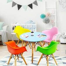 Isabelle Max Exum Kids 5 Piece Play Table And Chair Set Wayfair