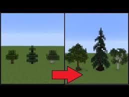 Minecraft How To Make Better Trees Minecraft Garden Minecraft Construction Minecraft