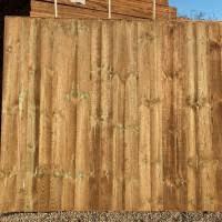 6ft X 5ft Heavy Duty Closeboard Fence Panel East Coast Fencing
