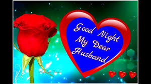 good night dear husband status good