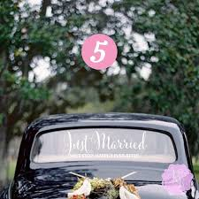 Just Married Next Stop Happily Ever After Wedding Car Window Decal Multiple Styles Wedding Decoration Wedding Gift Wedding Decal Style 5 8 2468143 Weddbook