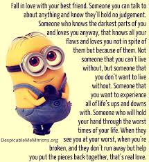 minion friendship quotes quotesgram