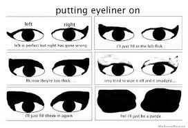 how to apply eyeliner liquid liner