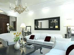 wall mirror living room decorating
