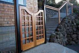 Dog Fence Design Ideas Pictures Remodel And Decor Page 6 With Images Fence Design Dog Fence Cedar Gate