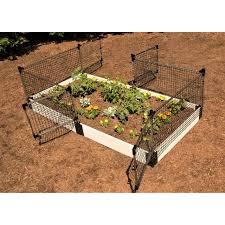 Stack Extend Animal Barrier Fencing In 2020 Garden Netting Raised Garden Garden Fence Panels