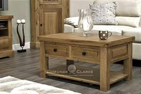 melford solid oak 3 x 2 coffee table