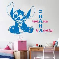 Wall Stitch Decal Baby Stitch Lilo And Stitch Quote Ohana Etsy In 2020 Lilo And Stitch Lilo And Stitch Quotes Daycare Decor