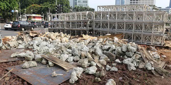 "Image result for batu gabion dibongkar"""