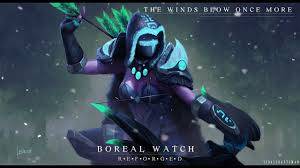 Dota 2 Drow Ranger - The Boreal Watch ...