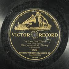 Victor matrix B-3967. I'm sorry / Ada Jones ; Billy Murray ...