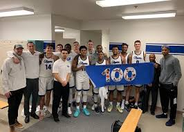 Men's Basketball coach Aaron Landon strikes 100th win for Clipper Athletics  | South Puget Sound Community College