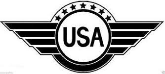 Usa Wings Logo Vinyl Sticker Decal Car Truck Windon Wall Laptop Notebo Mymonkeysticker Com