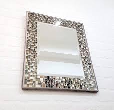 mosaic mirror wall decor 18 x 15