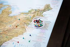 Push Pin Maps For Travelers World Usa Geojango Maps