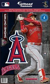 Fathead Los Angeles Angels Shohei Ohtani Teammate Wall Decal Dick S Sporting Goods