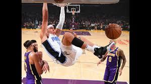 Aaron Gordon Puts On A Dunk Reel vs. Lakers - YouTube