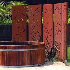 Rusty Steel Fence Screen Panel China Manufacturer