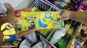 minions banana dari walls ice cream