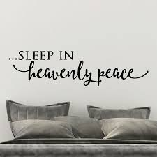 Sleep In Heavenly Peace Wall Quotes Decal Wallquotes Com