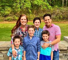 """Wes Hampton on Twitter: """"Happy Easter from the Hampton clan. He is risen!… """""""