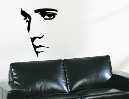 Large Elvis Presley Wall Decal Vinyl Sticker Silhouette Wall Art Mural 24 X 31 Vinyl Wall Decals Silhouette Wall Art Wall Decals