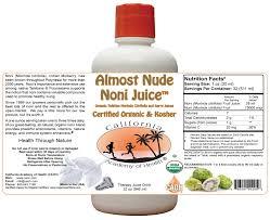 almost pure organic noni juice 32 oz