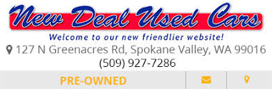 new deal used cars used car specials in