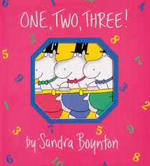 one two three by sandra boynton