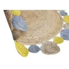 120cm round indoor outdoor jute rug