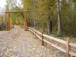 100 Cedar Split Rail Fence At Menards