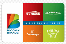 bloomin brands gift cards outback