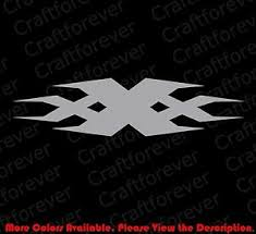 Triple Xxx X Car Window Laptop Vinyl Die Cut Decal Sticker Racing Jdm Fy019 Ebay