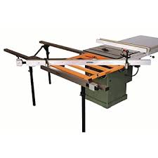 Exaktor Ex60 Table Saw Open Grid Sliding System With Guide Rails Fence Table Assembly Extension Bars And Blocks Jeffolivera