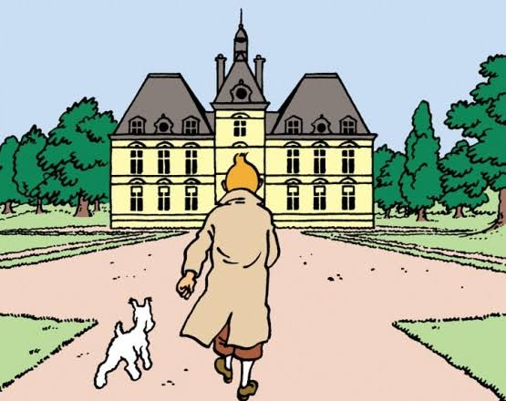 Image result for tintin cheverny""