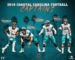 2019 Coastal Carolina Football captains ...