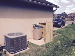 How To Build Small Enclosure To Hide Your Garbage Can Outside Youtube