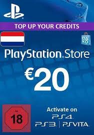 netherlands psn 20 eur gift card