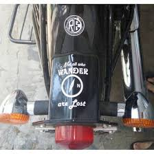 Not All Who Wander Are Lost Sticker For Cars Buy Online In India