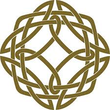 Amazon Com Large Celtic Knot Square Vinyl Decal 8 X 8 Inches Automotive