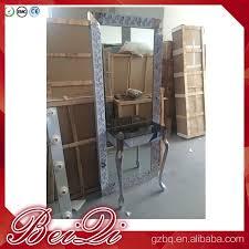 mirror used beauty salon furniture gold