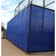 Aleko 25 Ft L Blue Hdpe Chain Link Fence Screen In The Chain Link Fence Screens Department At Lowes Com