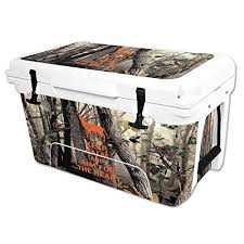 Mightyskins Protective Vinyl Skin Decal Wrap For Rtic 45 Qt Cooler Cover Sticker Deer Hunter See This Great Product This Unique Vinyl Decals Rtic Rtic 20