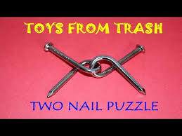 two nail puzzle english simple