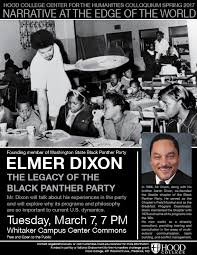 Elmer Dixon – The Legacy of the Black Panther Party – Hood College Center  for the Humanities
