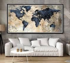 Large World Map Poster Push Pin World Map World Map Pushpin World Map Art Travel Map Poster Travel Map Pushpin Map Poster World Map Print World Map Decor Large World Map Poster World Map Art